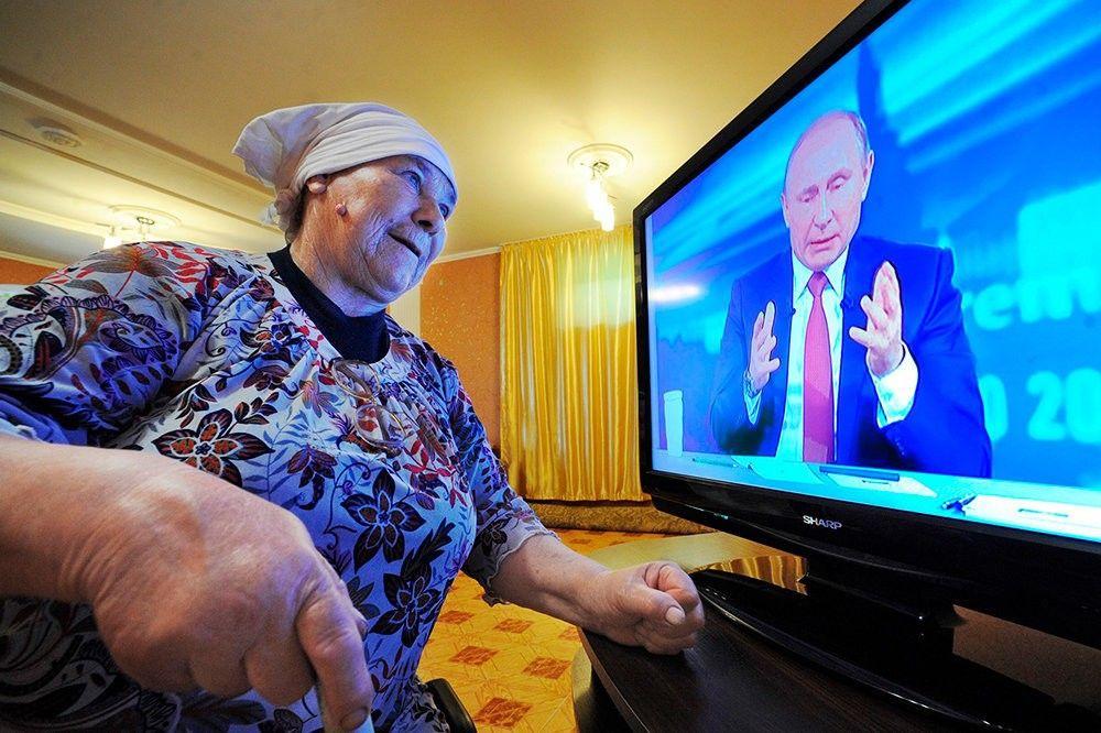 дом престарелых ТВ время